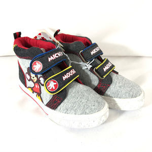 Disney Toddler Boys Mickey Sneakers High Top 8